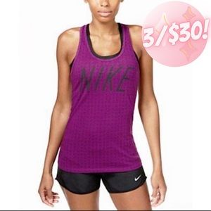 💖3/$30💖 Nike Dotted Racer Back Athletic Tank Top